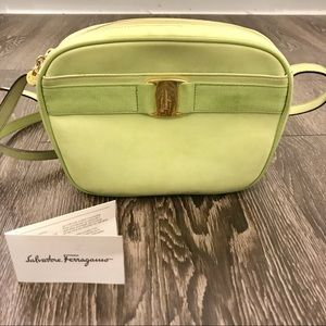 Authentic Vintage Ferragamo Vera Crossbody